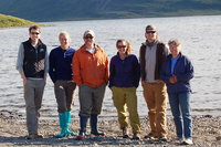 The research group that stayed in the Westfjords from May to July in 2011.