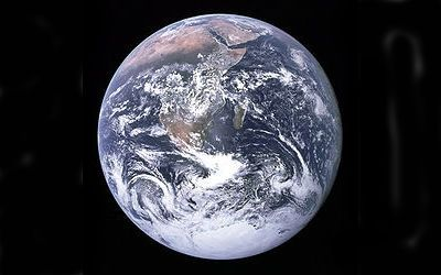 Image of the Earth. Source: Wikipeadia