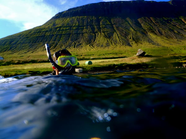Diving in the Westfjords might become a tourist attraction. Photo: Danny O'Farrell.