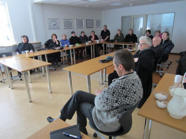 Prospective SIT hosts joined us for an informational meeting at the Centre.