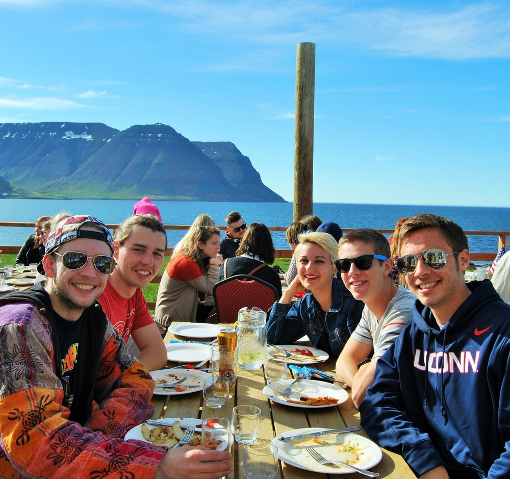 This summer marks ten years since the University Centre of the Westfjords and SIT Study Abroad, in the USA, started working together on their Westfjords field school program. The program is tailored to the needs of American bachelor's students who want to study for a semester overseas. Well over 200 students have stayed in the Westfjords with SIT over the past decade. They have engaged with the region's culture and got to know its residents well; especially through homestays, which are an integral part of the programs and allow the students to get to better know the country's culture and customs.