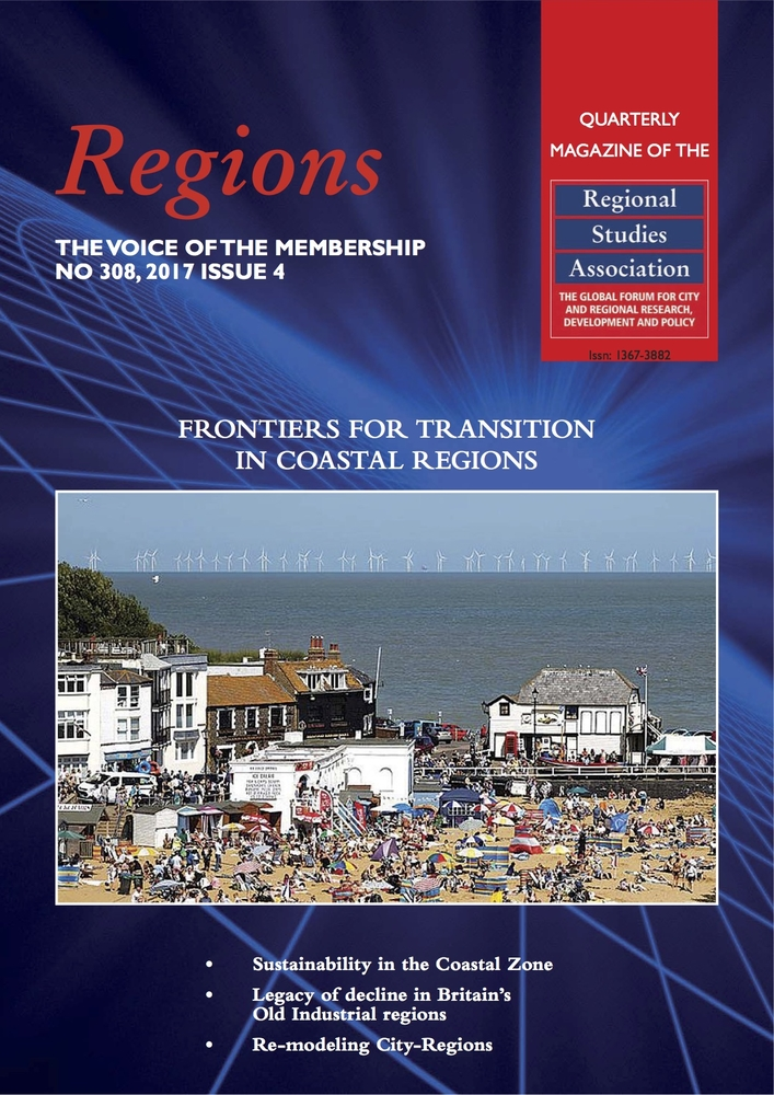 The front page of the Regions Magazine special issue.