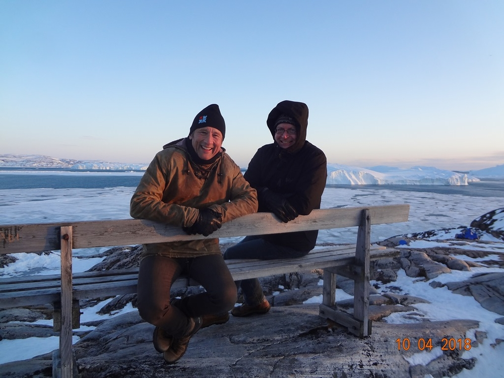 Peter Weiss, director of the University Centre of the Westfjords, together with Mark Nuttal, University of Alberta and Professor of Climate and Society at the Greenland Climate Research Centre/Greenland Institute of Natural Resources and Ilisimatusarfik/University of Greenland, where he directs the Climate and Society research programme.