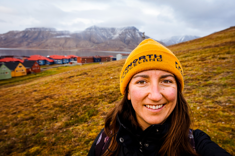 This is Ellyn Davidson, an aspiring marine ecologist from Canada who is passionate about the Arctic. She graduated in 2016 from the Coastal and Marine Management Program at UW