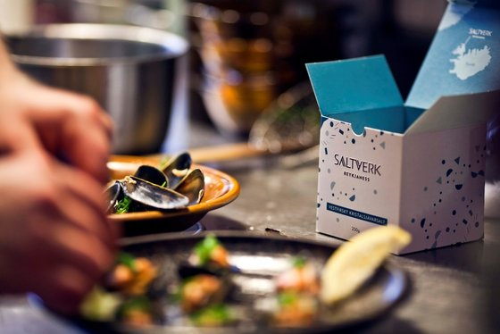 Saltverk sea salt products is an example of marine related innovation in the Westfjords. See further on www.saltverk.is. Photo: Saltverk.