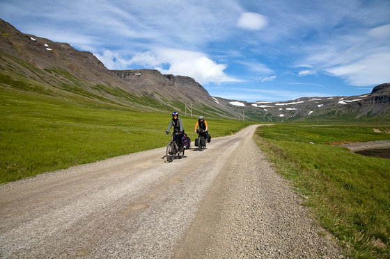 There are of course alternative ways to travel to the Westfjords. Photo: www.gusti.is.